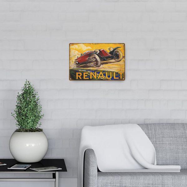 plaque deco renault decors