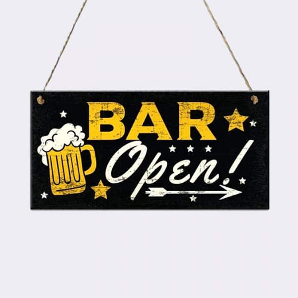 pancarte-bois-bar-ouvert
