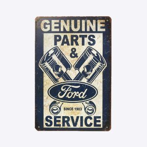 plaque emaillee ford motor