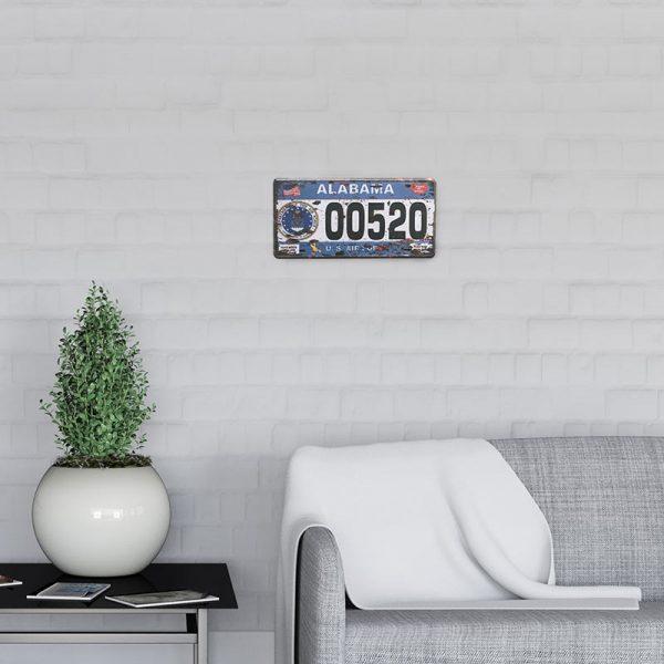 plaque immatriculation usa alabama decors | Plaque Immatriculation USA Alabama