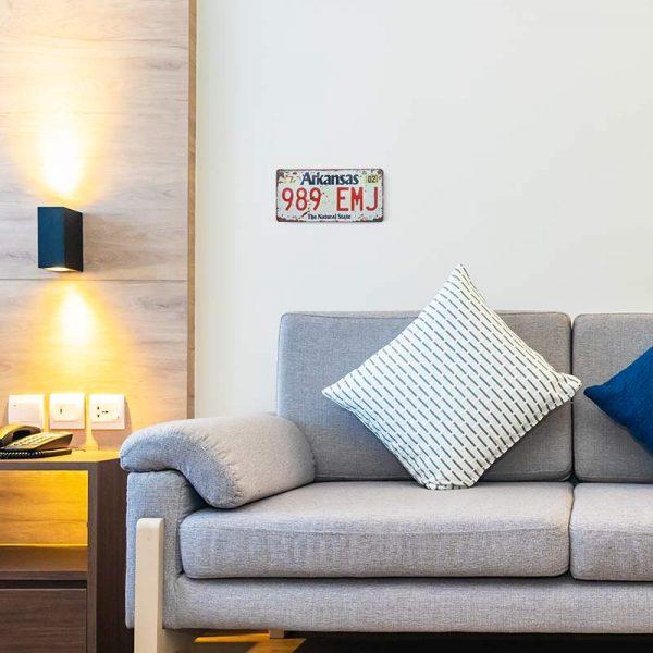 plaque immatriculation usa decors