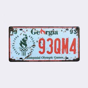 plaque-immatriculation usa georgia