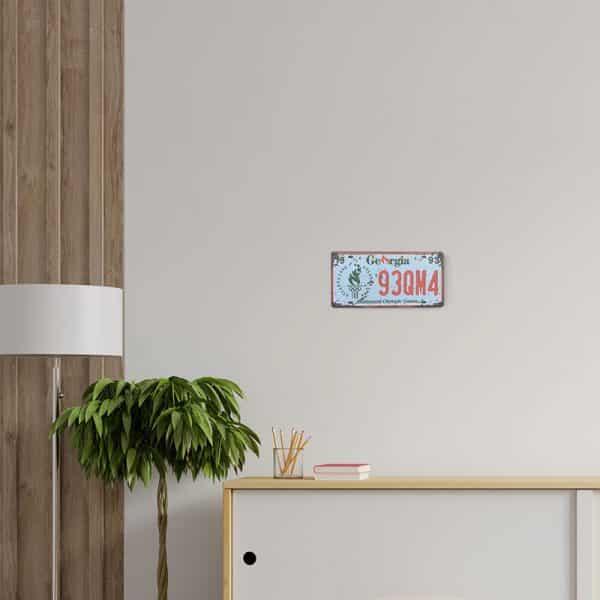 plaque-immatriculation usa georgia decors