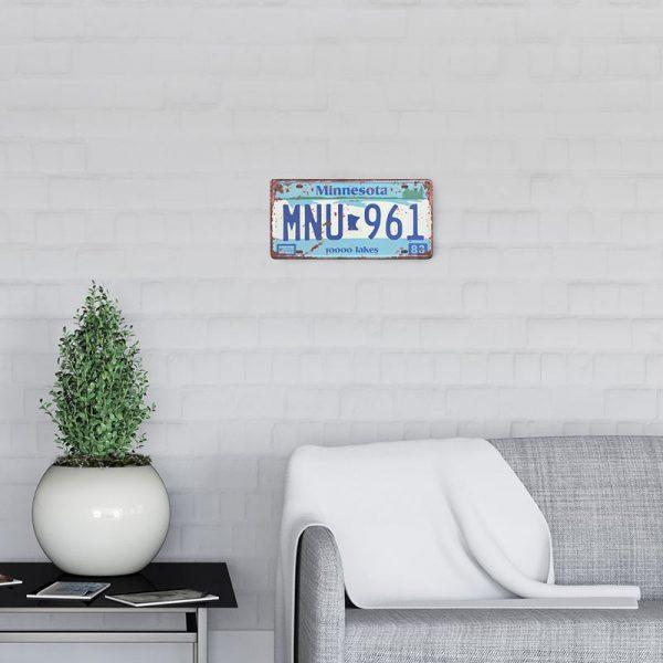 plaque-immatriculation usa minnesota decors