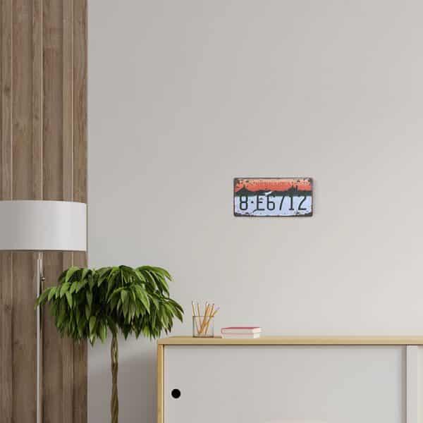 plaque-immatriculation usa nebraska decors