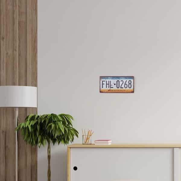 plaque-immatriculation usa pennsylvania decors
