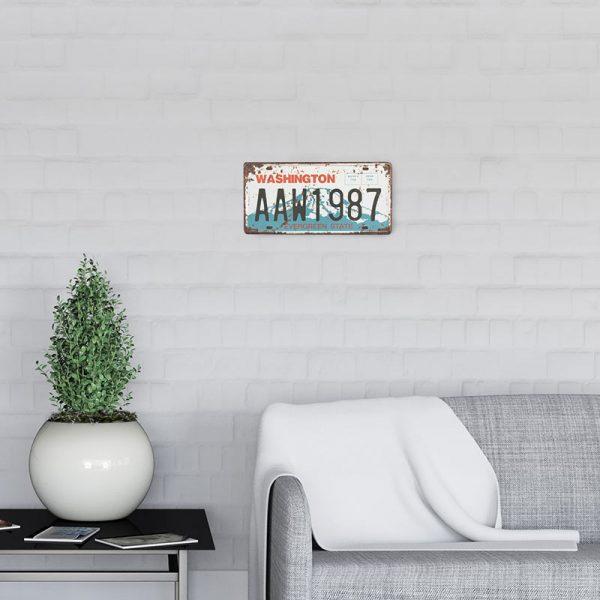 plaque immatriculation usa washington decors | Plaque immatriculation USA Washington