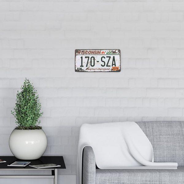 plaque-immatriculation usa winsconsin decors