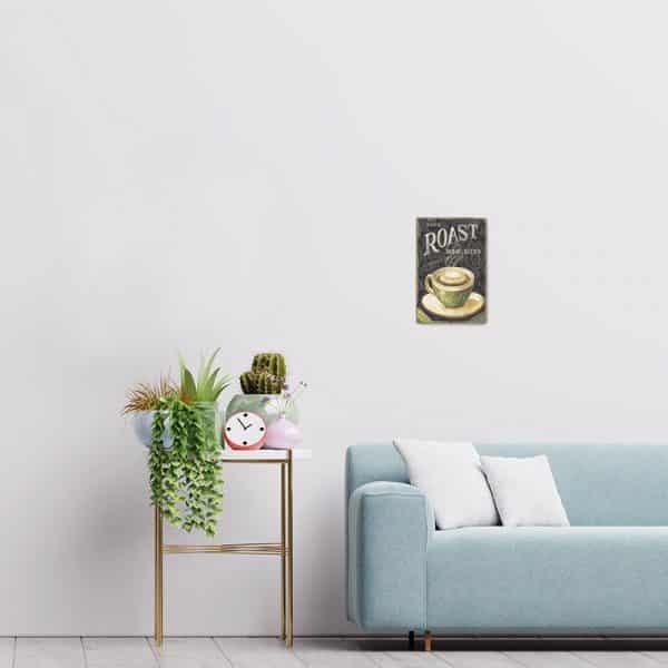 plaque metal cafe decors