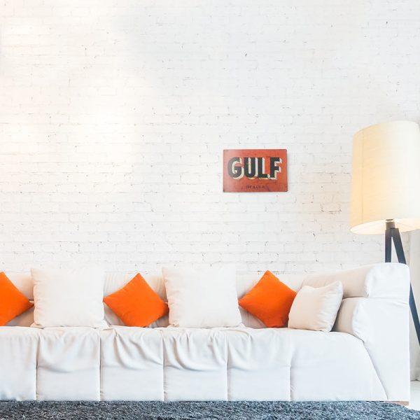 plaque publicitaire gulf decors | Plaque Publicitaire GULF