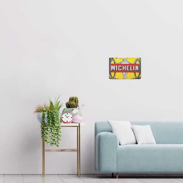 plaque publicitaire michelin decors 7