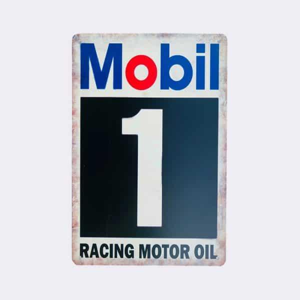 plaque publicitaire mobil