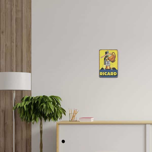 plaque publicitaire ricard decors | Plaque Publicitaire Ricard