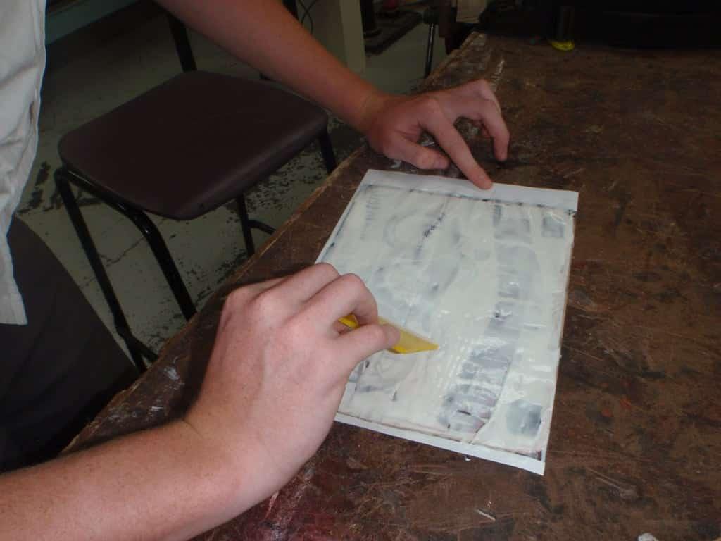 colle plaque en metal   Comment faire une plaque émaillée