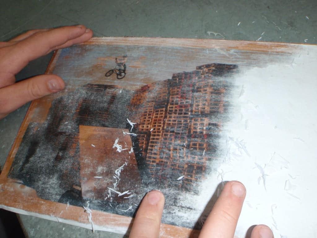 création Plaque vintage   Comment faire une plaque émaillée