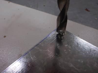 perçage plaque metal   Comment faire une plaque émaillée