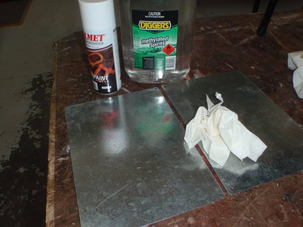 plaque en metal vierge   Comment faire une plaque émaillée