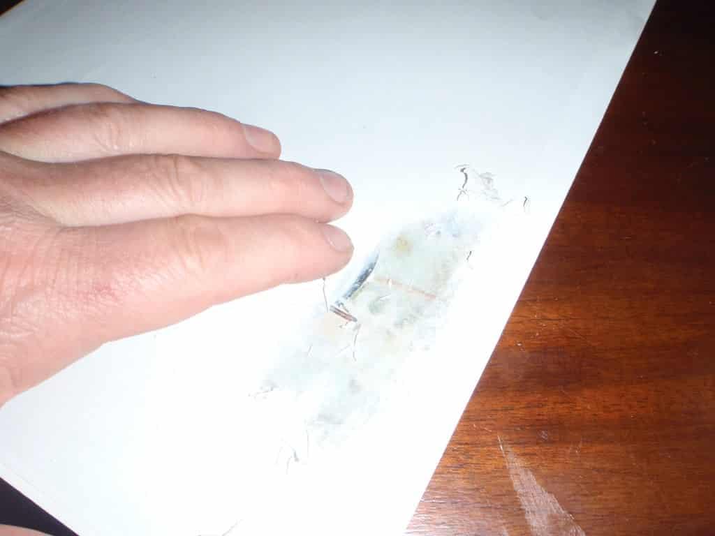plaque vintage recouverte de papier   Comment faire une plaque émaillée