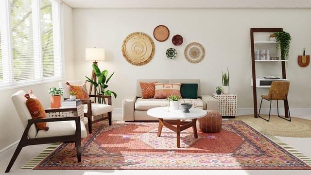 tapis décorer son salon
